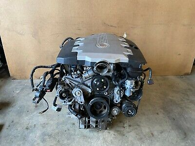 CADILLAC CTS AWD 2007-2009 OEM 3.6 V6 ENGINE MOTOR BLOCK WITH ACCESSORIES 83K
