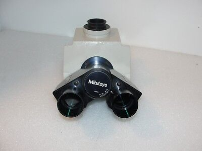 Mitutoyo 378-001 378001 Trinocular Viewing Head