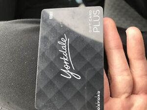 200$ Yorkdale gift card for $170