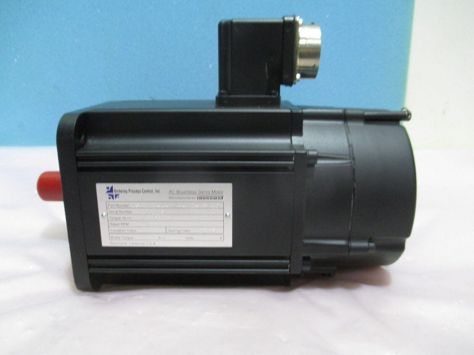 Berkeley Process Control ASM121-A-0/B-22-NB/10 AC Brushless Servo Motor, 421590