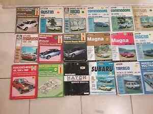 Workshop manuals for old cars Birkdale Redland Area Preview
