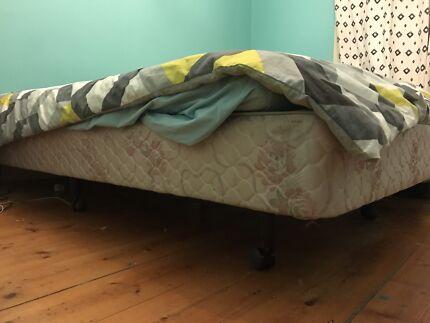 Queen bed base