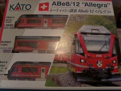 KATO 10-1273 RHB ABE8/12 ALLEGRA EMU 3 CAR UNIT BRAND NEW BOXED.