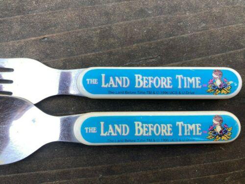 Vintage Land Before Time Dinosaur Fork & Spoon Children