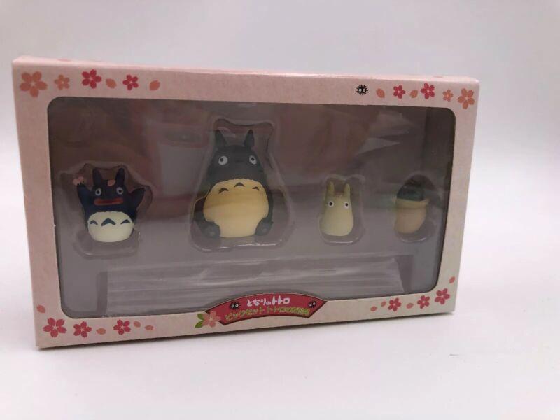 Studio Ghibli My Neighbor Totoro Figure Set of 4 (B4)