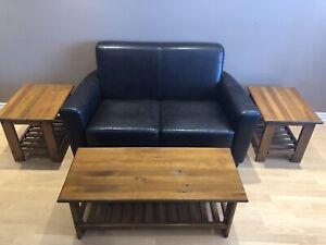 Solid Canadian Pine Coffee Table and End Tables