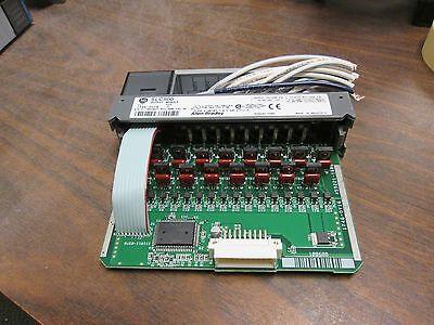 Allen-bradley Slc500 Dc Output Module 1746-0v16 Output 10-50 Vdc