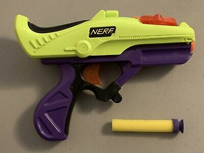 Vintage Rare Nerf Hyper Sight Lock 'N Load And Pistol 1998 With Sight!