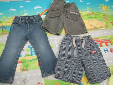 size 2 toddler boy fred bare jeans + x2 shorts WOOF Ferntree Gully Knox Area Preview