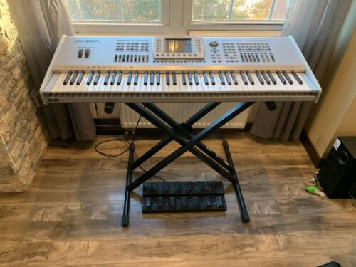 Ketron Audya 76 keys with AJAMSONIC upgrade and FS13 foot controller