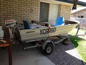 3.6m Aluminium Dinghy with 6hp Outboard motor Caboolture Caboolture Area Preview