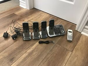 Cordless phones (multi phone system)