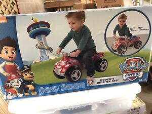 Paw Patrol Ride-on ATV (Brand New)