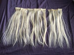 Real hair - hair extensions