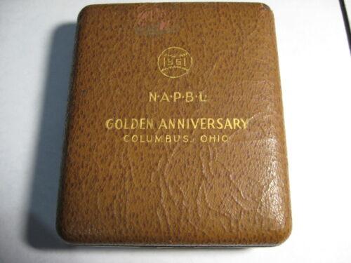 VERY RARE VINTAGE 1951 NAPBL BASEBALL COCA COLA  JEWELRY BOX  RARE COKE MLB