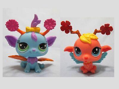 Littlest Pet Shop Lot Fairy Set 2832 and 2833 Authentic Lps