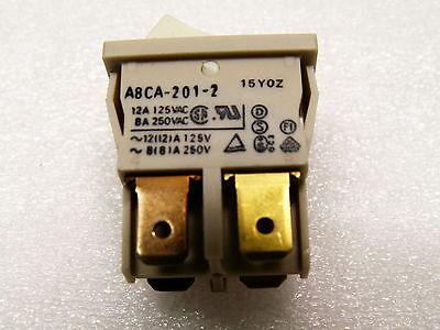 Omron A8ca-201-2 Toggle Switch White Box Of 100 Nib