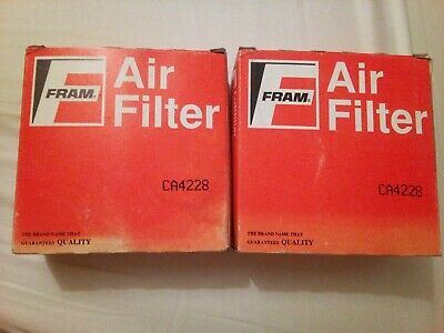 Triumph Spitfire/ Dolomite/ MG 1500 Pair X 2 Fram Air Filters CA4228 New