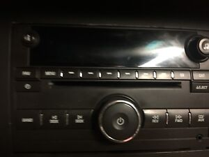 2007-2013 gmc Chevy factory stereo with AUX
