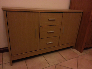 Buffet in great condition - 2 door, 3 drawer Ryde Ryde Area Preview