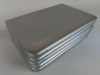 Job Lot - 5 x ChromeBook Toshiba CB30-102, Celeron 2GB RAM 16GB SSD 13.3in Grey