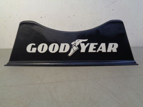 Vintage GOODYEAR Tires Advertising Display Rack Stand Sign Gas Oil