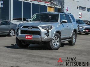 2016 TOYOTA 4RUNNER LEATHER / NAVIGATION / AWD / SUNROOF
