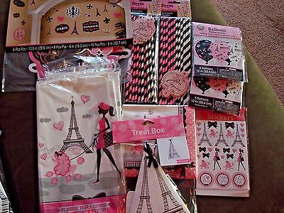 A Day In Paris Party Decorations; I Love Paris Theme Shower, Birthday Decoration](Paris Themed Birthday Party Decorations)
