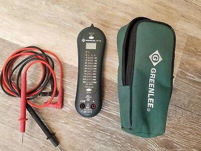 Greenlee Gt-95 Voltage Tester Cat Iv 600v Cat Iii 1000v Pre-owned Working