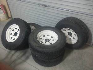 Toyota Land Cruiser Wheels and Tyres x5 Highton Geelong City Preview