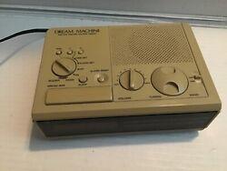 Vintage SONY DREAM MACHINE FM/AM Digital Alarm Clock Radio ICF-C2W - TESTED