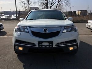 If you see the ad it's available 2012 Acura MDX