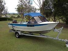 Savage 4.2 m runabout with 30 hp electric start Mercury Grafton Clarence Valley Preview