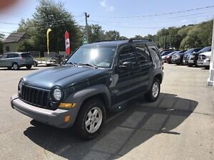 Freshly inspected 2005 Jeep Liberty 4x4