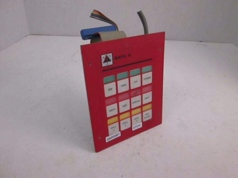 ASM SATCII Control Panel Assy, Used