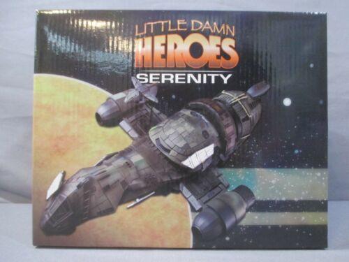 Firefly LITTLE DAMN HEROES SERENITY 1:400 Scale Replica Quantum Mechanix 2011