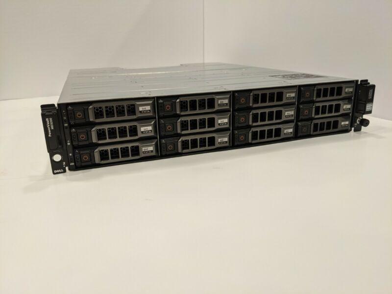 Dell PowerVault MD3200 12 x 4TB 7.2K NL SAS HDD iSCSI Dual PSU Dual Controller
