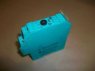 Pepperl Fuchs Power Feed Module Wcommon Fault Line Monitoring Output Kfd2-eb