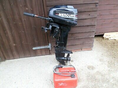 MERCURY 9.9 HP SHORT SHAFT, 2 STROKE OUTBOARD ENGINE WITH TILLER CONTROL