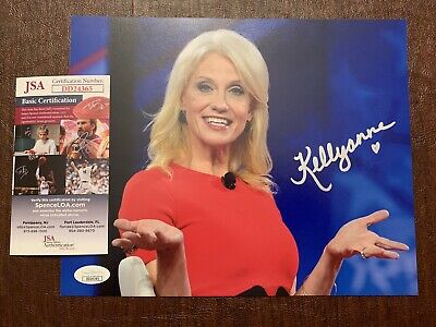 Kellyanne Conway President Trump Autographed Signed 8x10 Photograph JSA COA