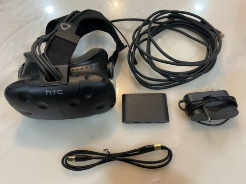 Used HTC Vive Virtual Reality Headset Cable Link Box