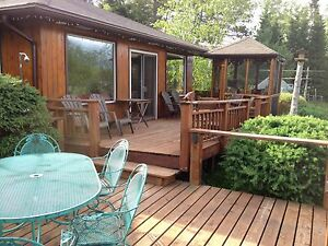 Weekly Cottage Camp Cabin Rental on inland lake