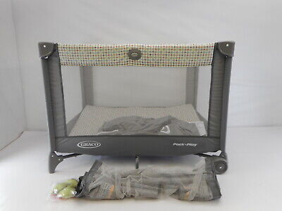 Graco Pack 'n Play On the Go Playard with Full-Size Infant Bassinet, Pasadena