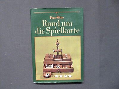 Buch, Weise, Rund um die Spielkarte, Altenburger Spielkartenmuseum, DDR 1988
