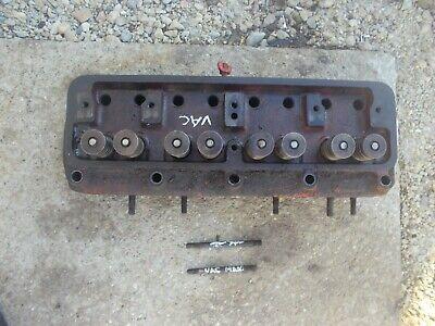 Case Vac Tractor Gas Engine Motor Cylinder Head Vt148 W Valves