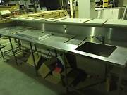 Stainless Steel bar with stone tops Garbutt Townsville City Preview
