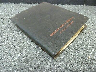 American Model 999c Dragline Crawler Crane Parts Catalog Manual Book