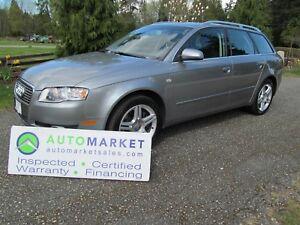 2007 Audi A4 2.0, QUATTRO, AUTO, INSP, WARR