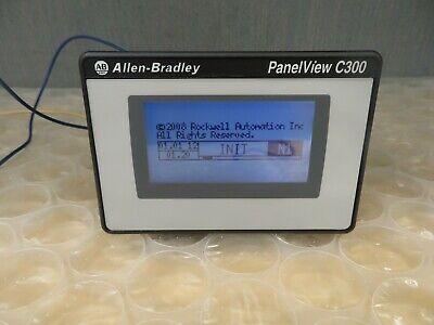 Allen-bradley Panelview C300 2711c-t3m Ser B Touchscreen Hmi 17592