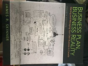 Business Plan  Business Reality Textbook